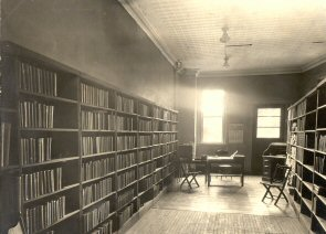 On April 30, 1924, the Oneida Free Library opened in the back room of the Oneida Chamber of Commerce, 112 Lenox Ave.
