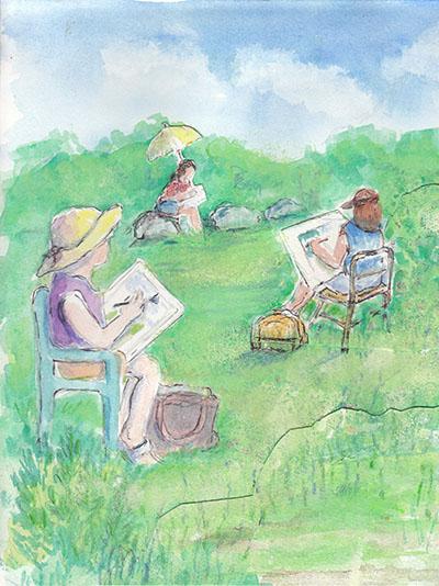 Teen Artists Workshop
