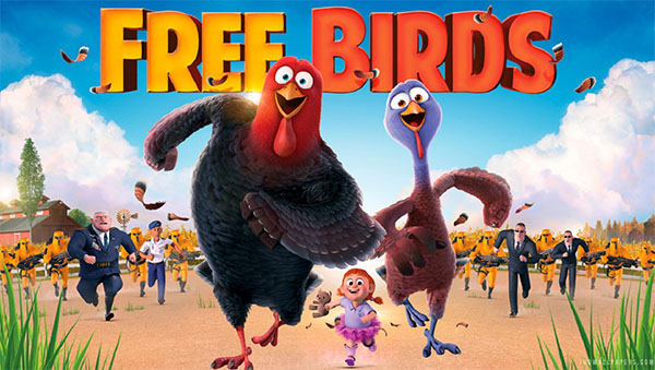 Family Movie Night: 'Free Birds'