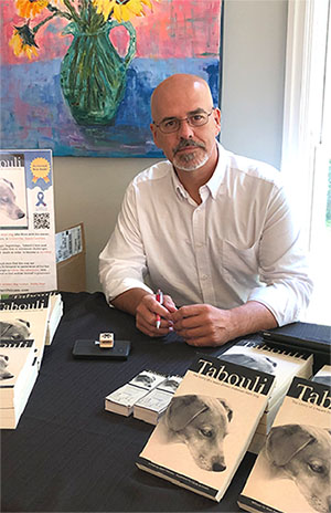 Book Talk with Matt Pelicano, author of 'Tabouli'