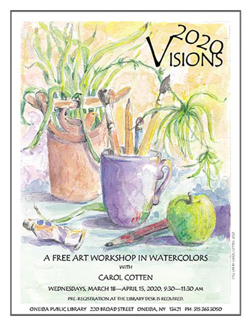 2020 Visions in Watercolors